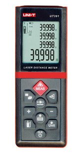 UT391 Laser Distance Meter Tester Range Finder Measure 0.1m-60meter/4in-197ft