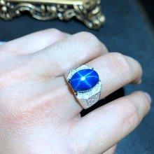 Крутое мужское кольцо блестящее с искусственным драгоценным