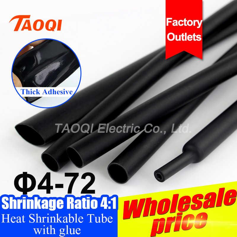 Isı Shrink boru daralan boru kablo kılıfı Wrap tel seti kılıfı 2:1 3:1 4:1 Pls kullanımı ısı tabancası küçültmek