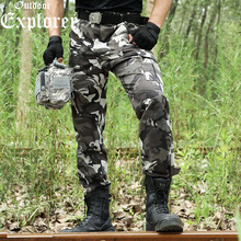 Männer camouflage Hose camo Tactical hose military hosen Kampf armee stadt casual hosen soldat reise Scratch kleidung wilde