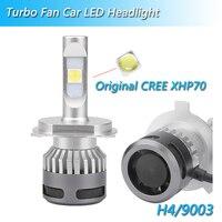 2 Pcs C REE XHP70 LED H7 H4 H1 H3 H11 H8 H9 9005 HB4 HB3 9006 9007 Car Headlight Bulb 110W 13200lm 6000K Auto Led Lamp Fog Light