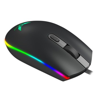 High-Speed Precision Optical Engine Positioning S900 RGB Wired Adopts Non-slip Lines Effective Anti-slip Gaming Mouse Mice