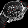 2016 new fashion megir brand design business army men male clock casual military luxury wrist quartz sport gift watch 1010