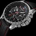 2016 nueva moda diseño megir marca negocios hombres reloj ocasional militar del ejército regalo del deporte del reloj de cuarzo de pulsera de lujo 1010