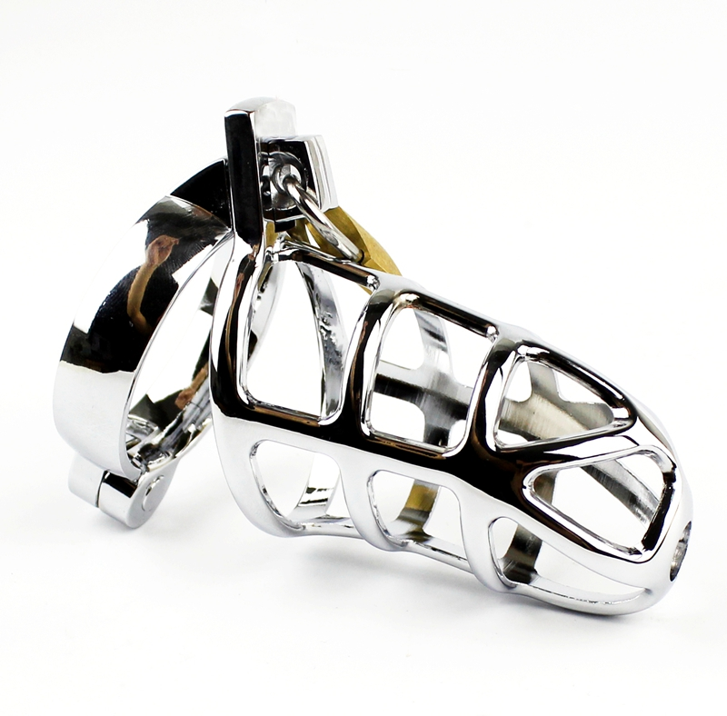 Top Quality Alloy Metal Male Chastity Devices Adult Cock Cage Lock BDSM Sex Toys For Men Bondage Chastity beltTop Quality Alloy Metal Male Chastity Devices Adult Cock Cage Lock BDSM Sex Toys For Men Bondage Chastity belt