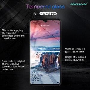 Image 2 - Gehärtetem Glas für Huawei P40 Lite Nillkin 0,33 MM Erstaunliche H Screen Protector Huawei P30 Glas