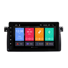 Xonrich AutoRadio Car Multimedia Player 1 Din Android 9.0 Per BMW E46 M3 Rover 75 318/320/325 /330/335 MG ZT Coupe GPS di Navigazione