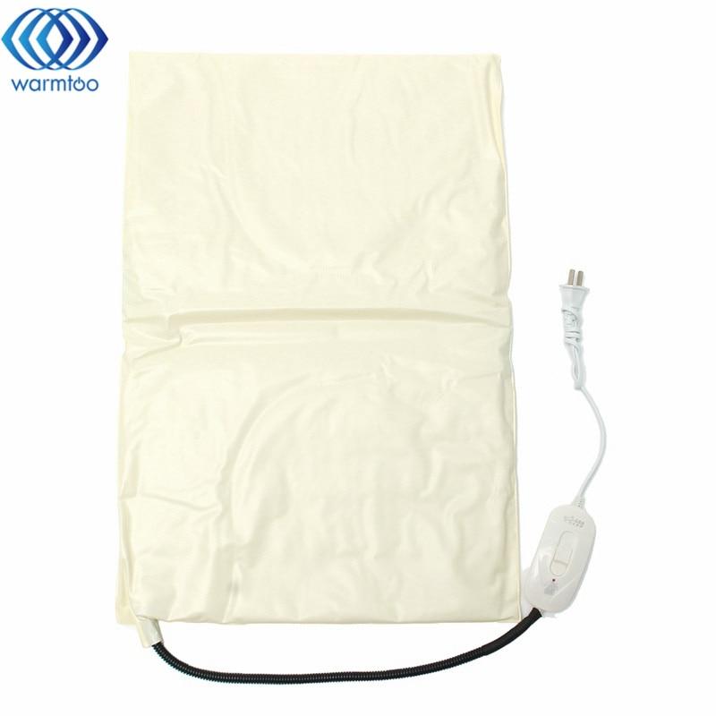 40X60CM Pet Electric Blanket Heating Pad Heater Dog Cat Warmer Mat Adjustable Temperature 35W 220V 100ml 130w electric temperature regulation heating mantle temperature adjustable pthw