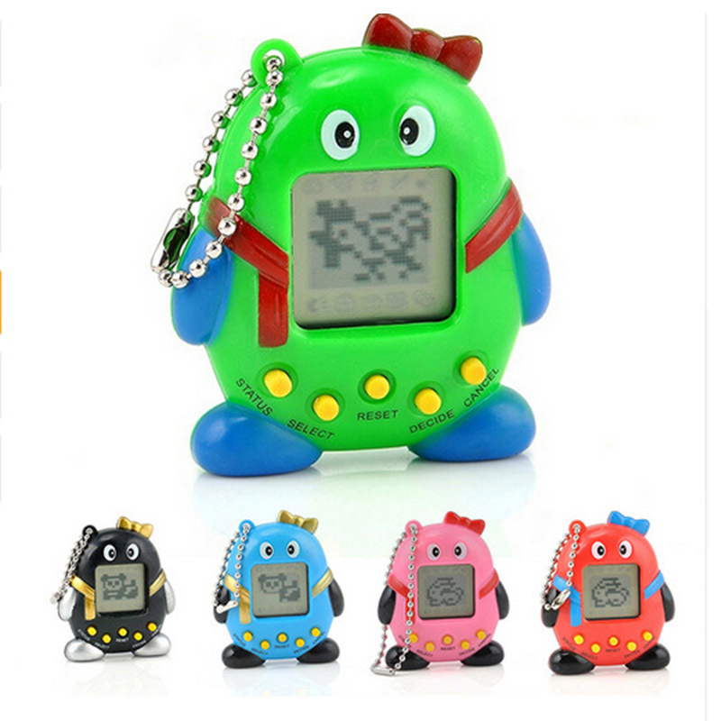 Hot! 2018 Equine Toy 90's Vintage 168 Pet Toy In A Virtual Internet Pet Toy 6 Style Tamar Penguin Toy