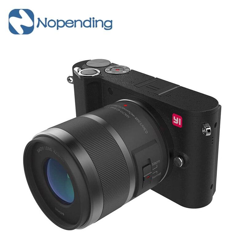 все цены на IN STOCK!! YI M1 Mirrorless Digital Camera 4k/30fps 3.0
