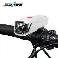 SAHOO Professional USB Rechargeable 60 Lumen Waterproof LED Bicycle Bike Light Torch Head Headlamp Lamp Cycling