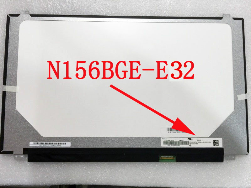 N156BGE-E32 LED Display Laptop Slim LCD Screen Matrix HD 1366*768 30pin eDP N156BGE E32 MatteN156BGE-E32 LED Display Laptop Slim LCD Screen Matrix HD 1366*768 30pin eDP N156BGE E32 Matte
