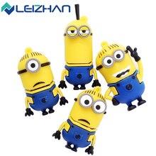 The full capacity cute Minions usb 2.0 usb flash drive 8gb 16 gb 32 gb pen drive memory stick pendrive u disk