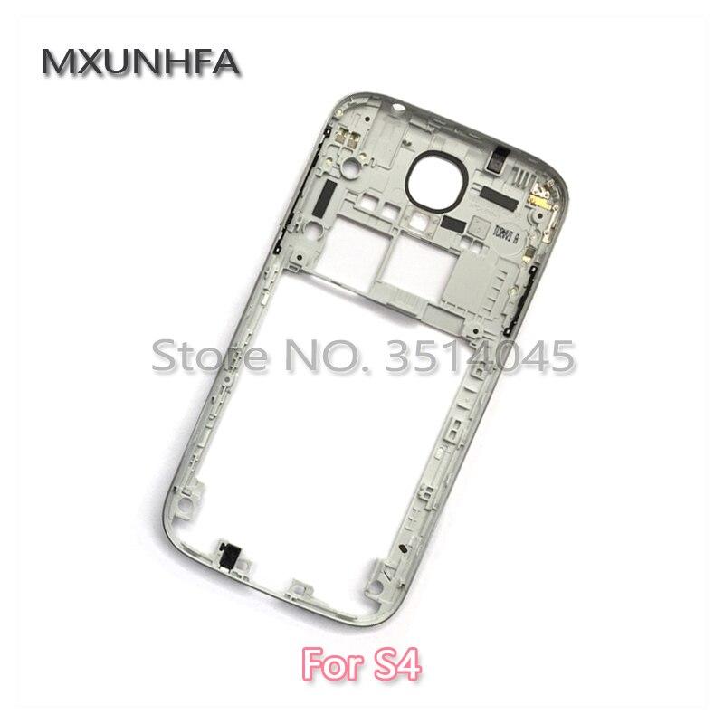 62b69694e76 Nueva plata de Marco medio para reemplazo para Samsung Galaxy S4 ...