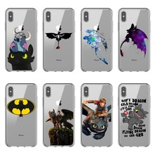 How to Train Your Dragon fashion soft silicone TPU Phone Cases Cover For iPhone 11 Pro Max 2019 5S  6SPlus 7 8Plus XS XR MAX