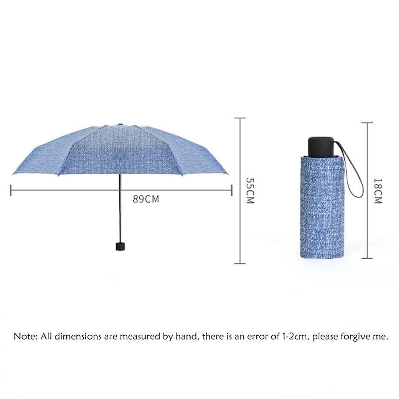 Protection UV pliant dames parasol vente Portable hommes parapluie Mini parapluie pluie femmes adultes pliant