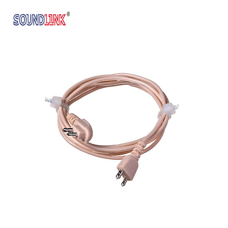 2pin Hearing Aid Cable Wire Cord Standard Universal Cable For Pocket Hearing Aids