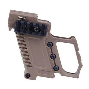 Image 5 - Тактический Глок для страйкбола держатель журнала Многофункциональный подходит для CS G17 G18 G19 пистолет Карабин Комплект охотничьи принадлежности
