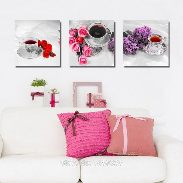 Painting & calligraphy modern art painting living room decoration ...