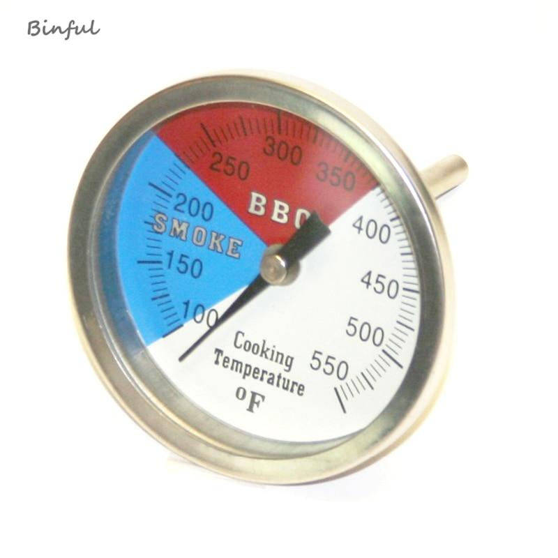 Rozsdamentes acél Grill kiegészítők Húshőmérő Tárcsás - Mérőműszerek - Fénykép 1