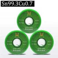 500g Lead Free Solder Wire Health Sn:99.3% Tin Wire Melt Rosin Core Big Roll Model:Sn99.3 0.7Cu