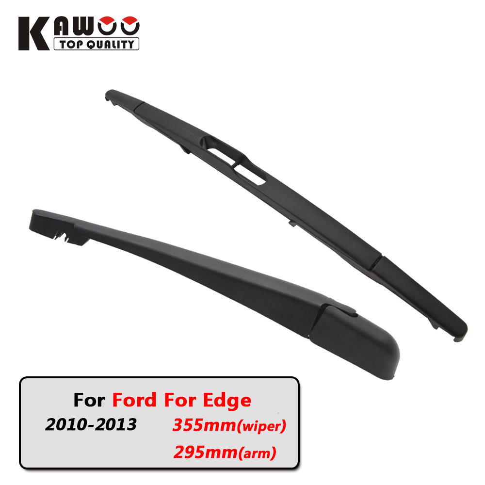 Kawoo car rear wiper blades back window wipers arm for ford for edge hatchback 2010