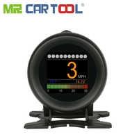 AUTOOL X60 Head Up Display Hud Obd Ii 2 Auto Digital Meter Alarm Geschwindigkeit Öl Wasser Temp Gauge Odb2 Tacho auto Diagnose Werkzeug