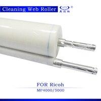 5PCS High Quality Photocopier Machine Part Fuser Cleaning Web Roller For Ricoh AFICIO MP4000 5000 Copier