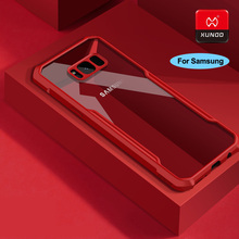 Original Luxury Transparent Silicone Soft Shell Case For Samsung Galaxy S9 S10 Plus E Phone 360 Shockproof Protective Cases