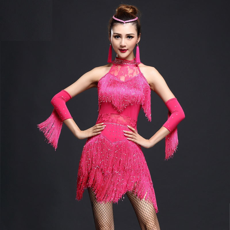 Corto de lentejuelas fringe dress vestidos de salón de baile de ...