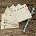 1 Pcs Mini Plano de Trabalho Semanal e Mensal Livro Filofax Notebook Para As Crianças Aprenderem Presentes Dos Artigos de Papelaria