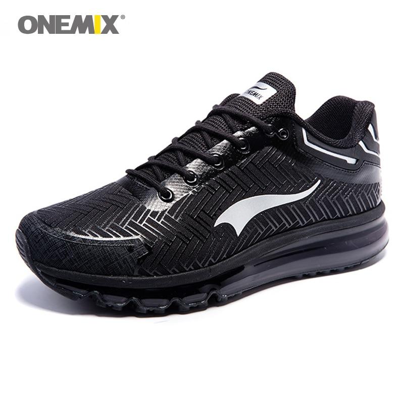 ONEMIX человек кроссовки для Для мужчин приятно запустить DMX 2017 легкий Для мужчин спортивной обуви Макс подушки Фитнес Run Кроссовки для бега бе...