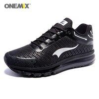 ONEMIX Man Running Shoes For Men Nice Run DMX 2017 Lightweight Men Sport Shoe Max Cushion