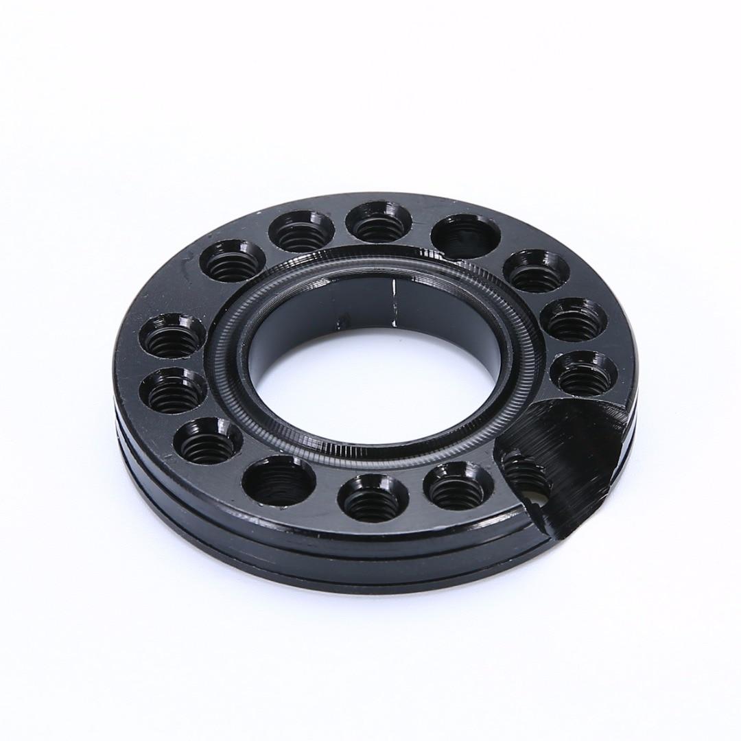 28mm 90 110 125cc ATV Pit Dirt Bike Carburetor Inlet Manifold Adjuster Spinner Plate Aluminum Alloy Random Color