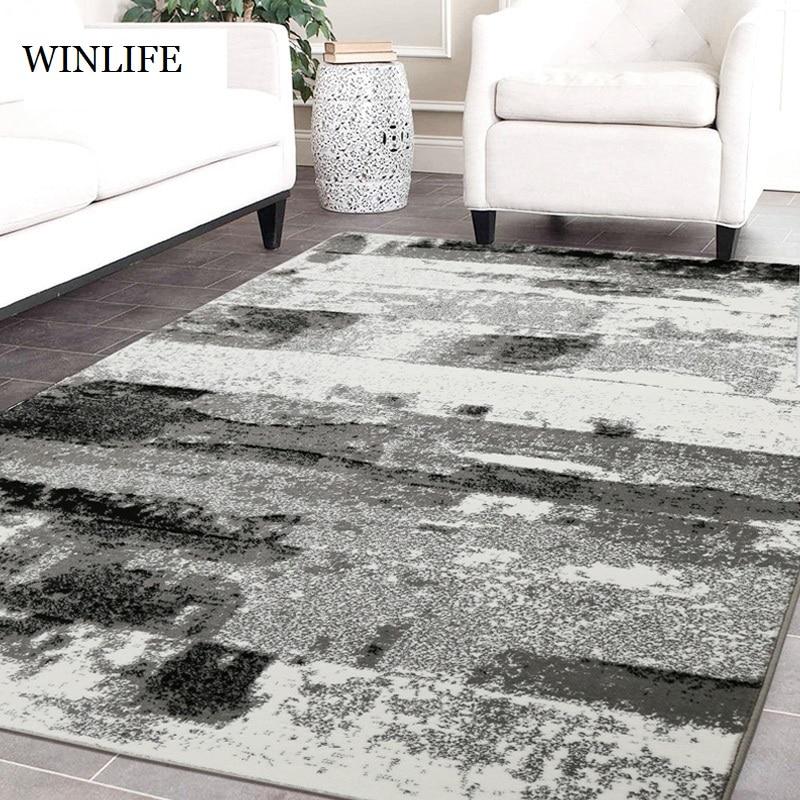 WINLIFE encre chinoise peinture Style tapis Simple doux salon chambre tapis anti-dérapant enfant ramper tapis