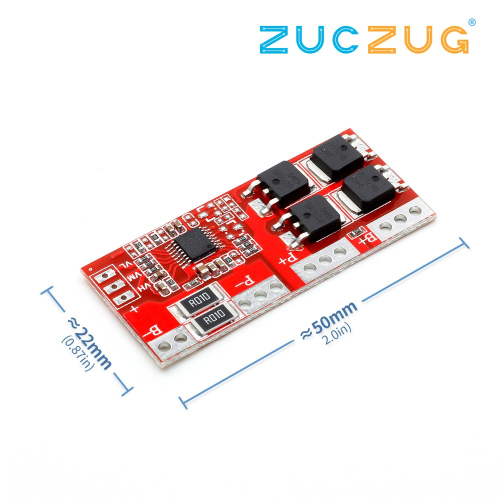 1PCS 4S 30A Li-ion Lithium Battery 18650 Charger Protection Board 14.4V 14.8V 16.8V 4S BMS image