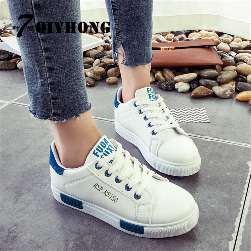 QIYHONG2017 New Fashion Hot Women's Shoes Vattentät Taiwan Liten Vit - Damskor - Foto 4