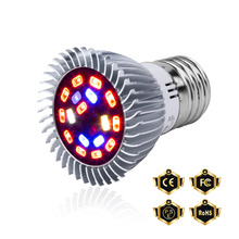 Full Spectrum Led Bulb Grow Light E27 Plant Growth Lamp E14 Greenhouse 220V Indoor Garden Hydroponic 18W 28W