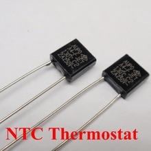 100pcs A2-F 115C 5A 250V degree Thermal Cutoff RH115 Thermal-Links Black Square temperature fuse
