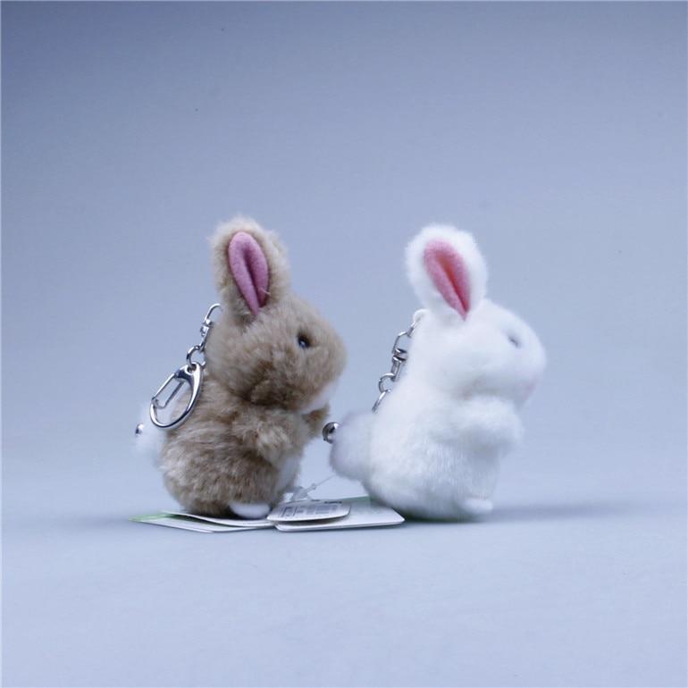 ESTARTEK TAKENOKO TA001 The Rabbit Bunny Toy Doll Rabbit Pendant Manual Stuffed Animals & Plush Toys Keychain Car Decoration