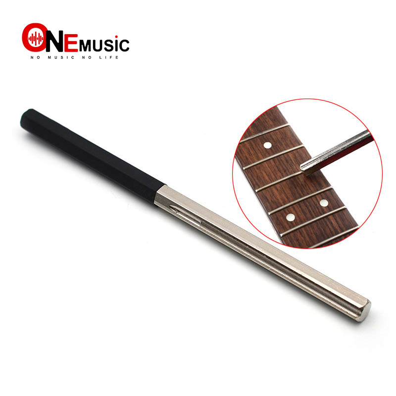 Guitar Fret Tools Crowning File Fret Dressing File With 3 Size Edges Luthier Tools For Guitar Polishing Tools Guitar Parts