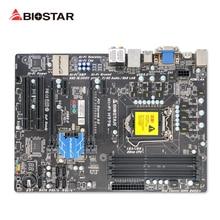 BIOSTAR Hi-Fi H77S Original Utilizado Escritorio Motherboard H77 LGA 1155 DDR3 16G SATA3 USB3.0 ATX