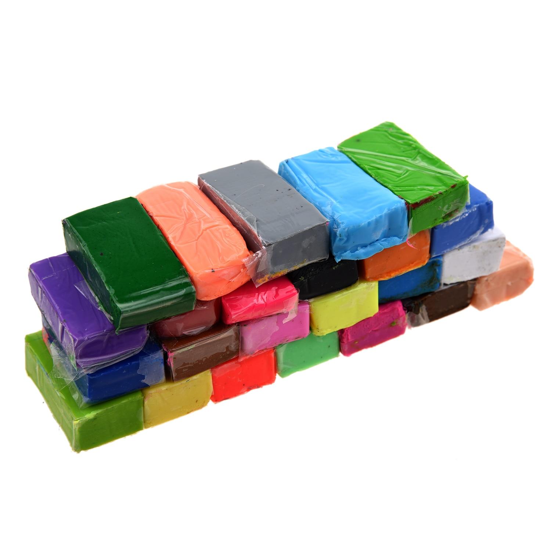 Mischfarbe 24 Weiche Sculpey Ofen Backen Polymer Clay Modellierung Form Block