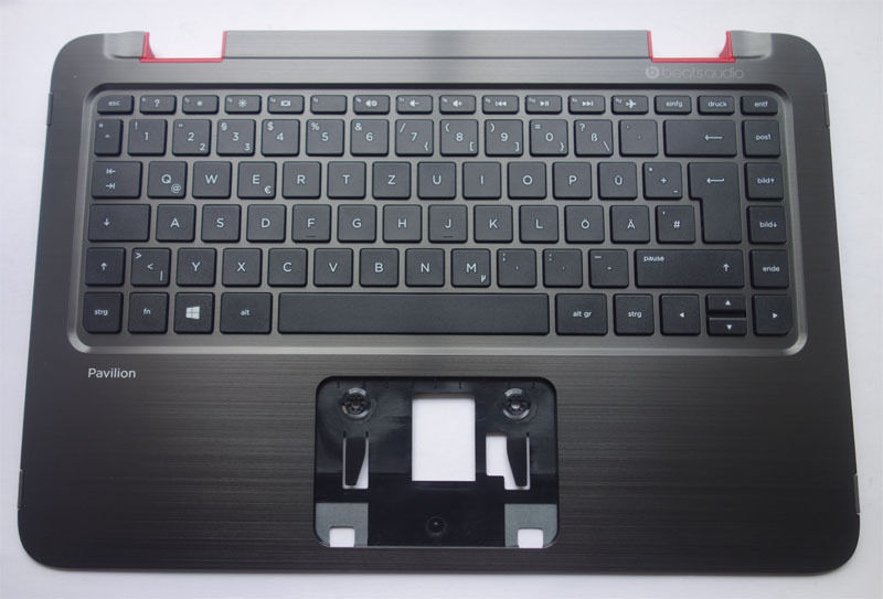 HP Pavilion x360 13-A 13-b 13-m 13-e Palmrest Keyboard  cover neworig keyboard bezel palmrest cover lenovo thinkpad t540p w54 touchpad without fingerprint 04x5544