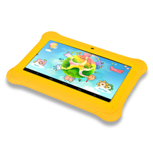 iRULU Y1 BabyPad 7 » Android 4.4 Tablet for Kids Quad Core  Dual Cameras Google GMS Test 1GB RAM with Silicone Case Candy Color