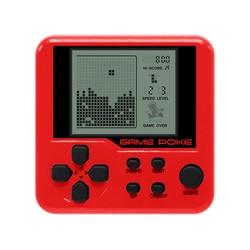 Intégré 26 jeux Mini Tetris Console de jeu rétro Matchbox Tetris Console de jeu Console LCD Portable électronique jouets éducatifs