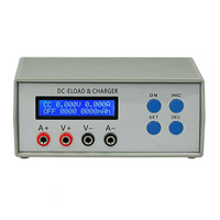 110V/220V Portable Battery Capacity Power Bank Precision Battery Tester EBCA05 Electronic Load Tester Charger Testing Equipment