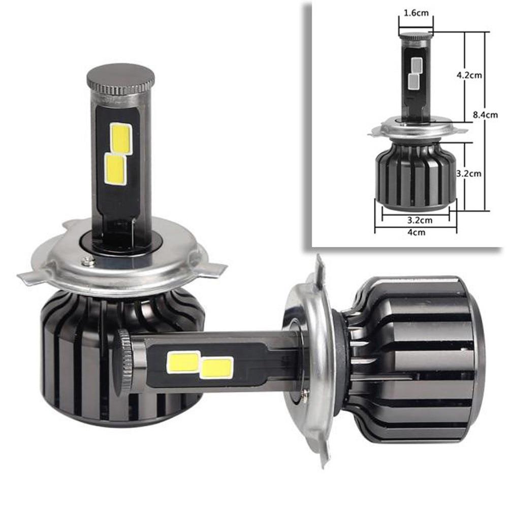 Car-styling H4 9003 HB2 120W 10000LM LED Headlight Kit Hi/Lo Beam Bulbs 6000K td1031 dropship