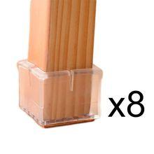 Ножку стула ножки площади охватывает caps таблица резиновые колодки мебель протектор
