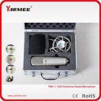 Professional Broadcasting Music Condenser Sound Recording Studio Microphone Karaoke Wired Condenser Mic System Microfone